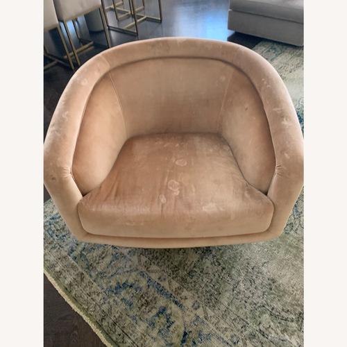 Used Jonathan Adler Bacharach Swivel Chair for sale on AptDeco
