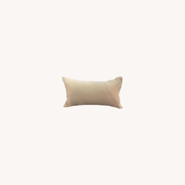 Restoration Hardware White Pillows - image-0
