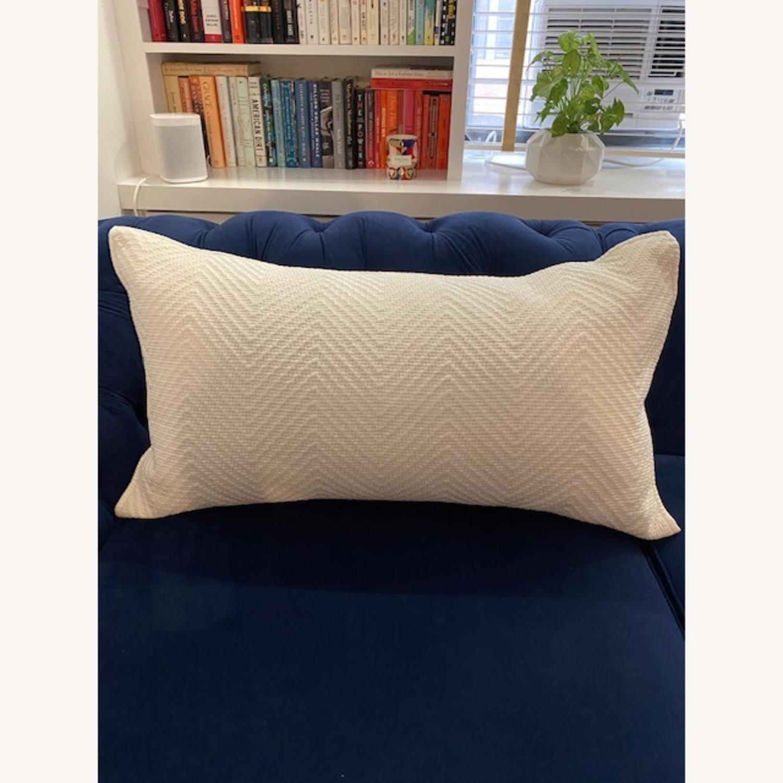 Restoration Hardware White Pillows - image-3