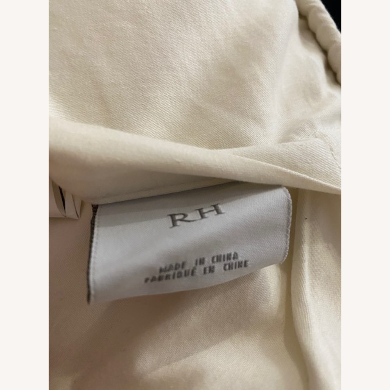 Restoration Hardware White Pillows - image-5