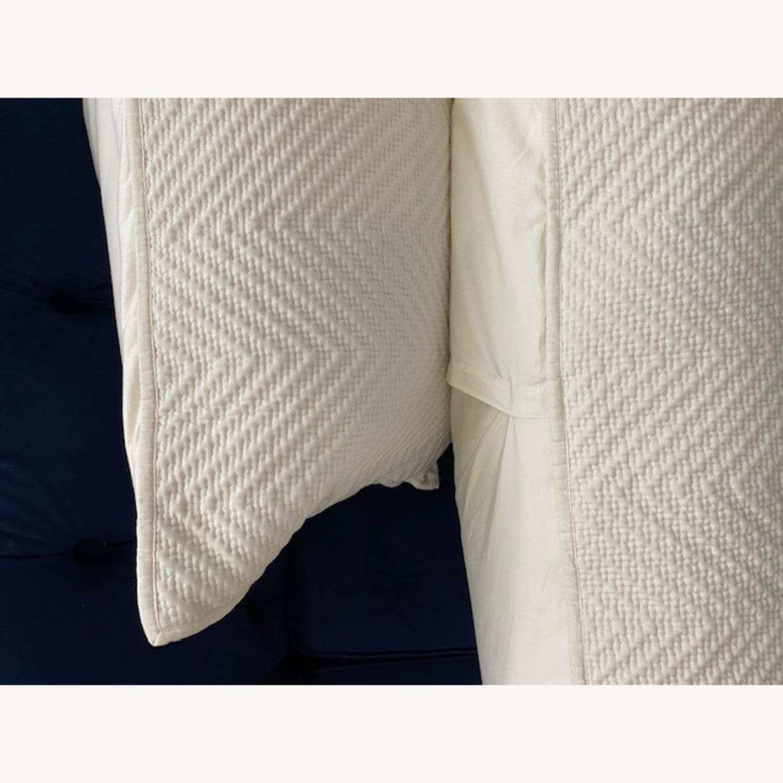 Restoration Hardware White Pillows - image-4