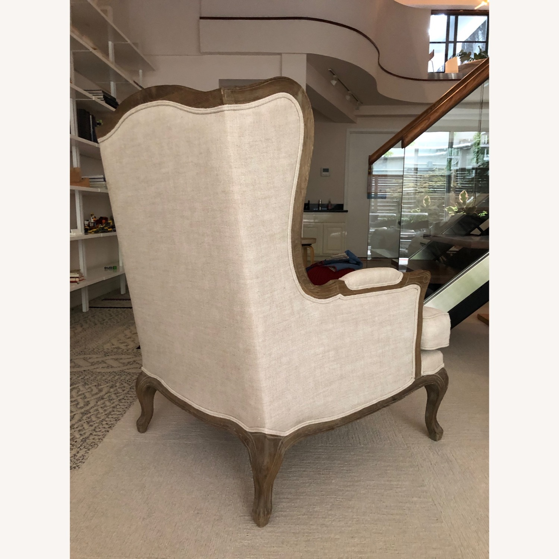Restoration Hardware Loraine Wingback Chair - image-5