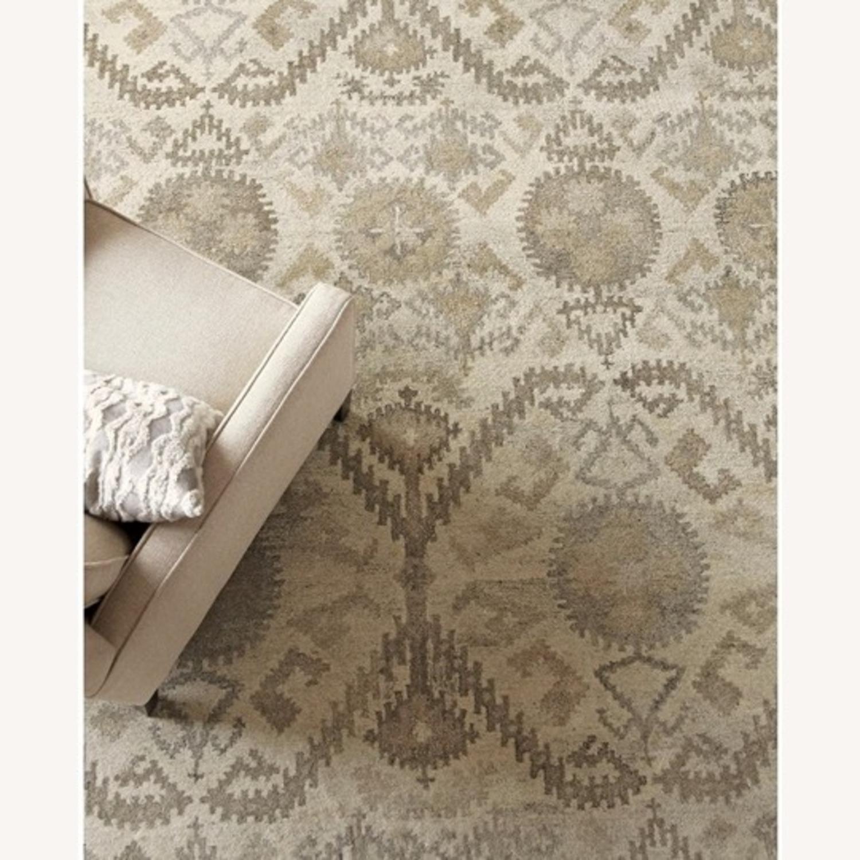 Crate & Barrel Orissa Wool Rug - image-1