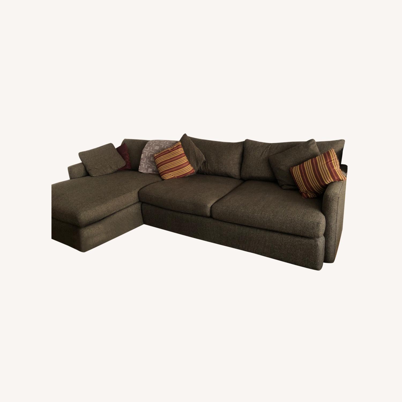 Crate & Barrel Lounge II 2-Piece Sectional - image-0