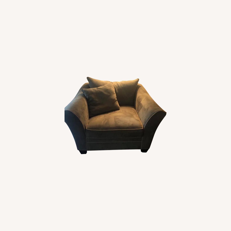 Raymour Briarwood Microfiber Chair - image-0