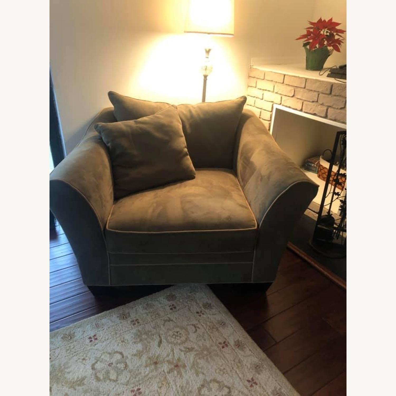 Raymour Briarwood Microfiber Chair - image-2