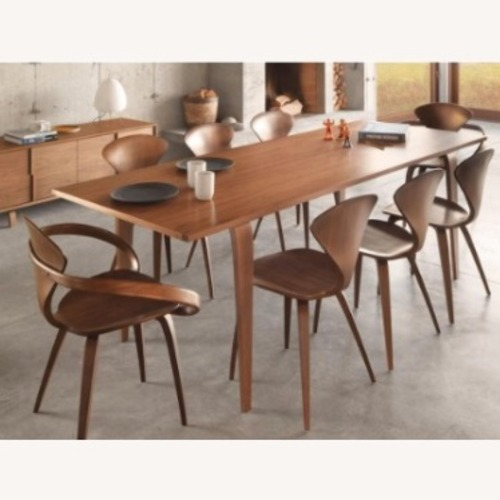 Used Design Within Reach Black Cherner Chair (set of 6) for sale on AptDeco