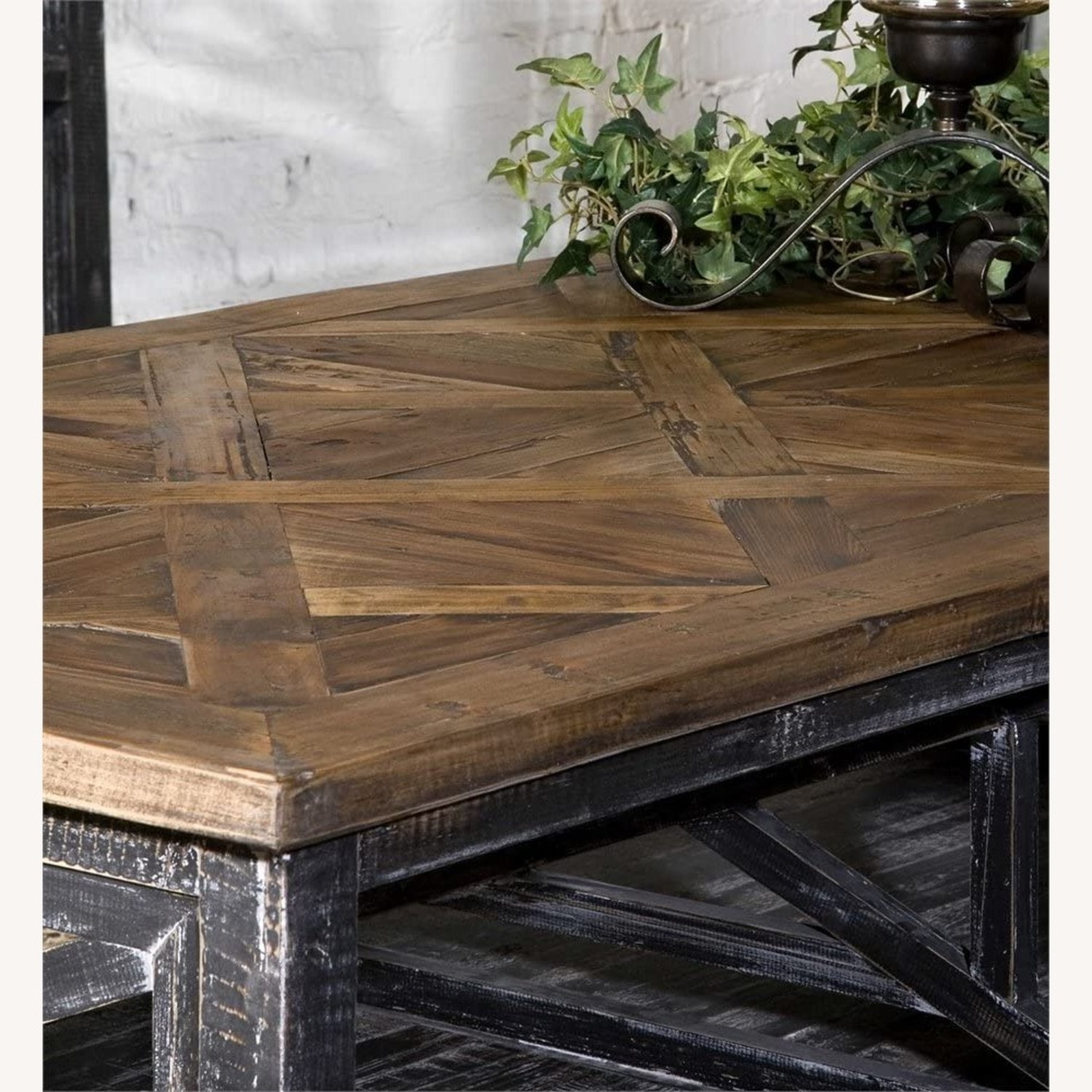 Reclaimed Wood Coffee Table - image-1