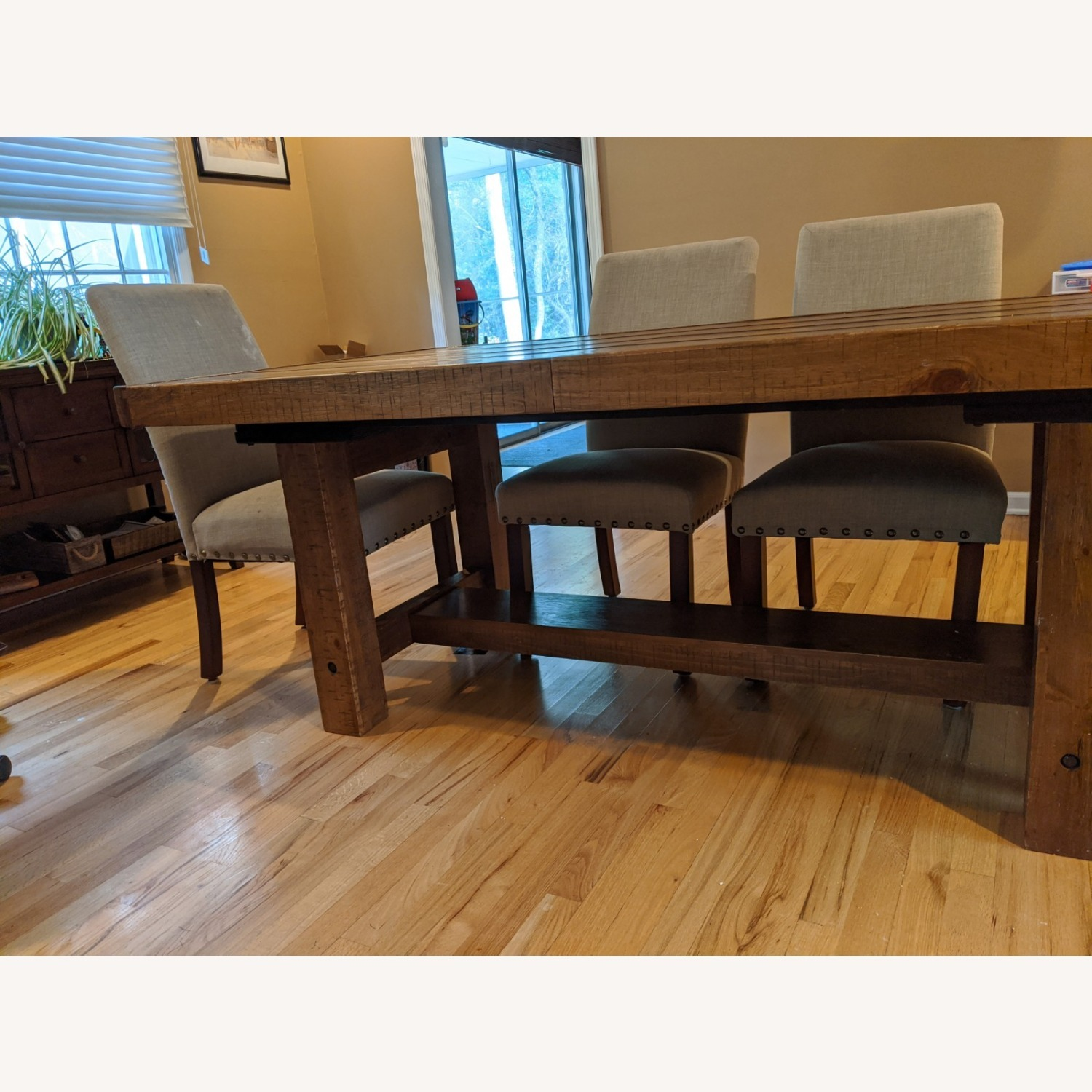 Dining Table and Parsons Chairs - image-2