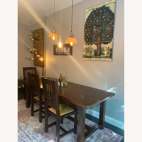 Used ABC Home Dining Room Table with 4 Chairs for sale on AptDeco