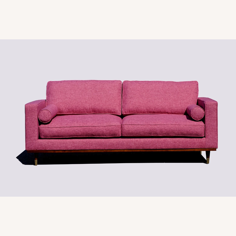 Brooklyn Space Introspect Mid-Century Modern Sofa - image-1