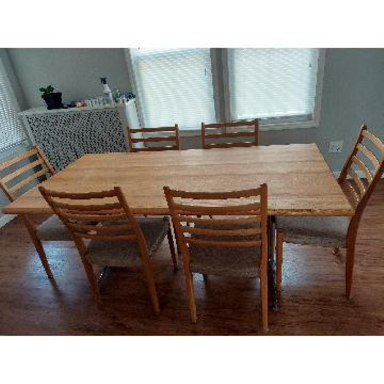 7 Piece Wood Dining Set - image-3