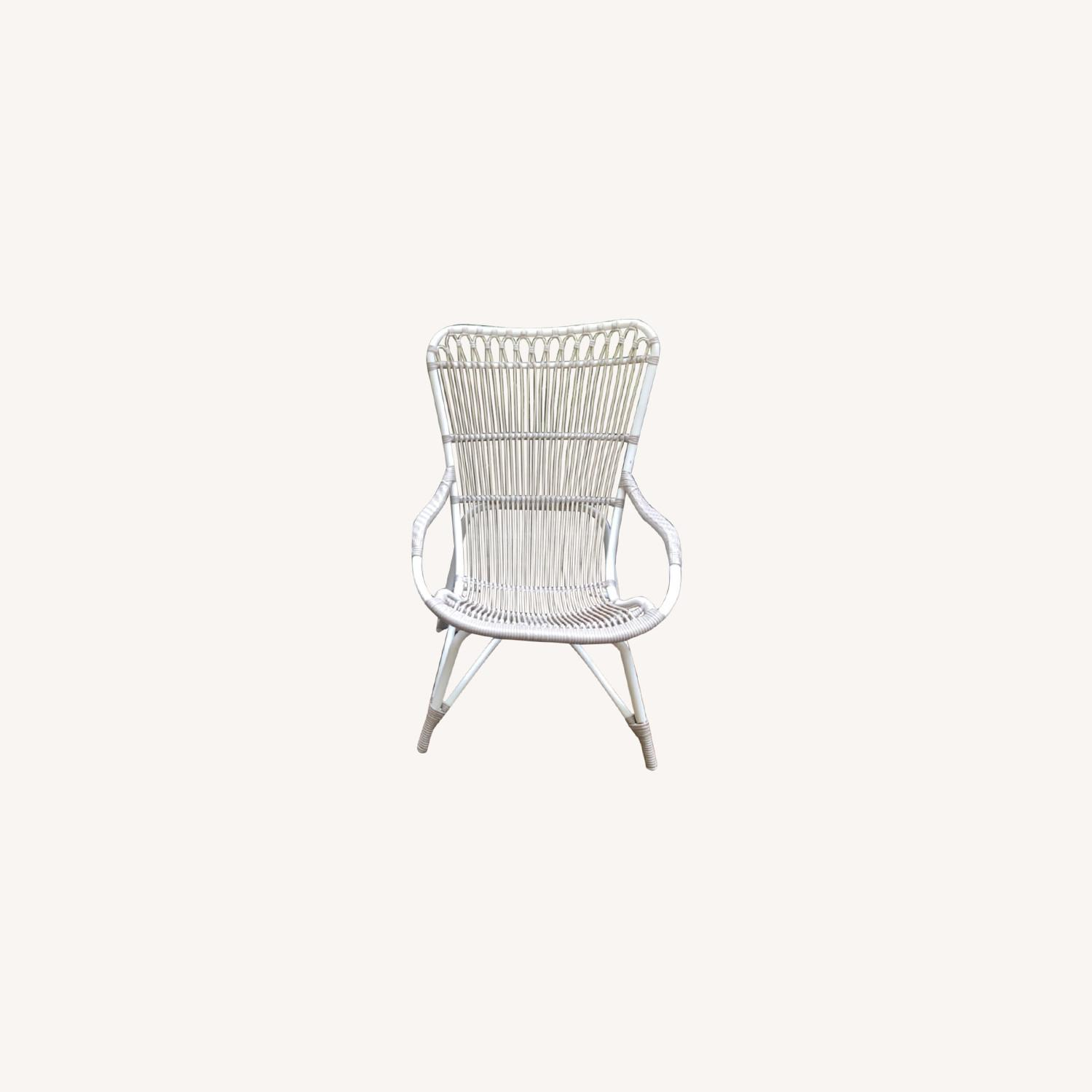 Pair Sika Design Rattan Outdoor Chairs - image-0