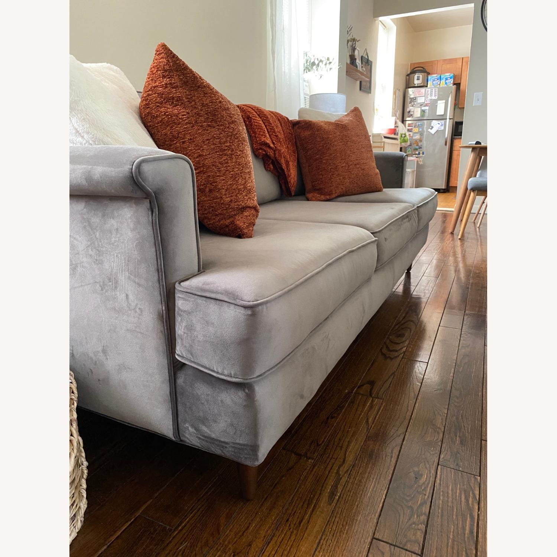 Wayfair Velvet Sofa - image-4