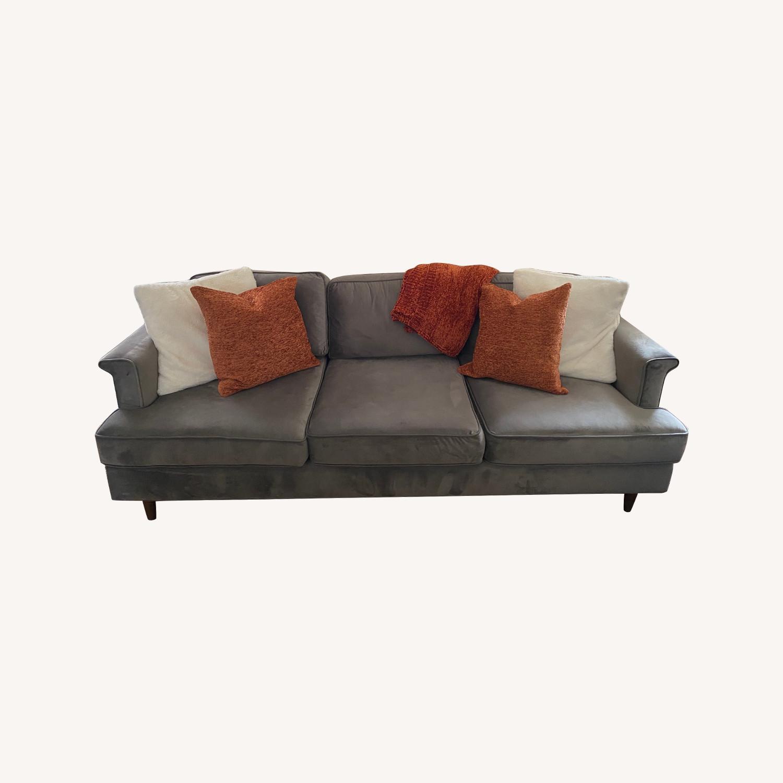 Wayfair Velvet Sofa - image-0