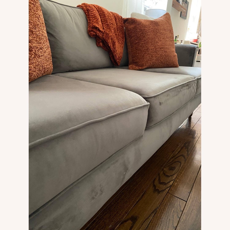 Wayfair Velvet Sofa - image-2