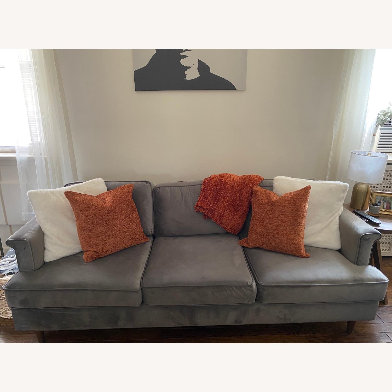 Wayfair Velvet Sofa - image-1