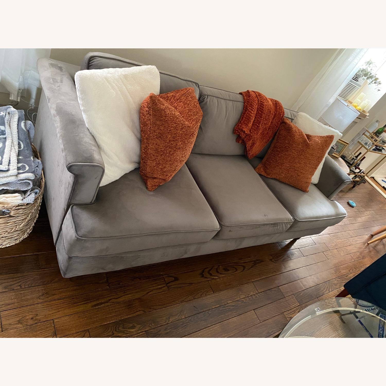 Wayfair Velvet Sofa - image-3