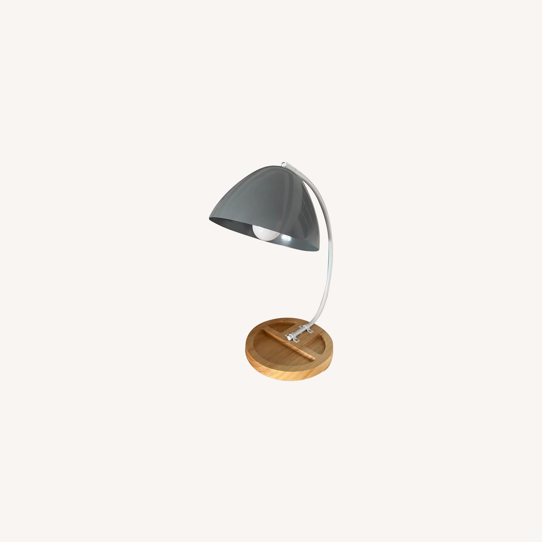 Crate & Barrel Organizer Desk Lamp - image-0