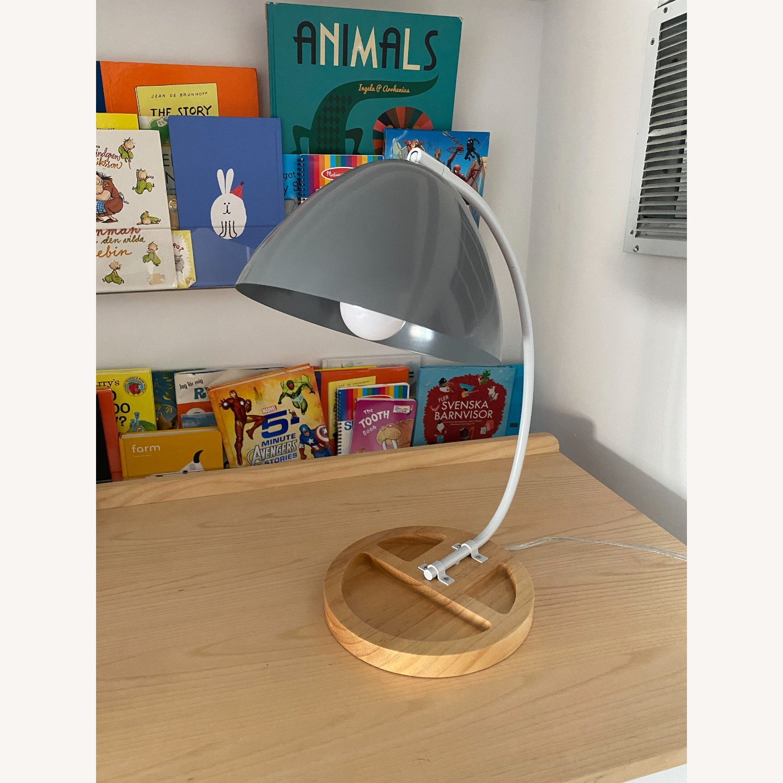 Crate & Barrel Organizer Desk Lamp - image-1