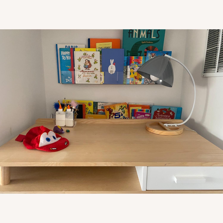 Crate & Barrel Organizer Desk Lamp - image-4