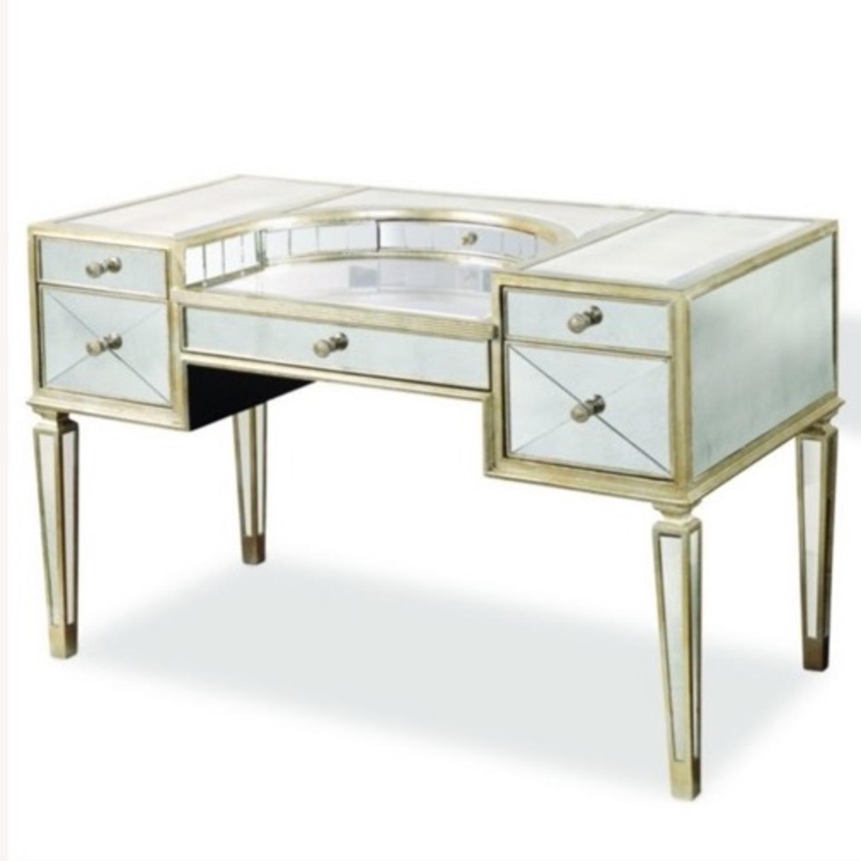 Houzz Mirrored vanity/Desk - image-3