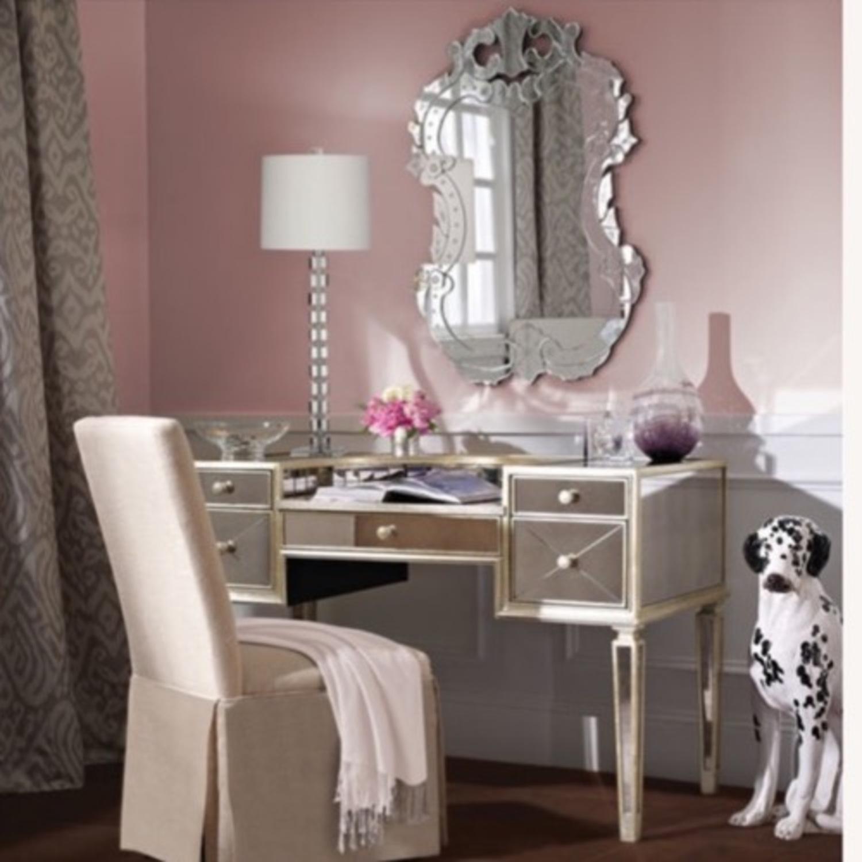 Houzz Mirrored vanity/Desk - image-2
