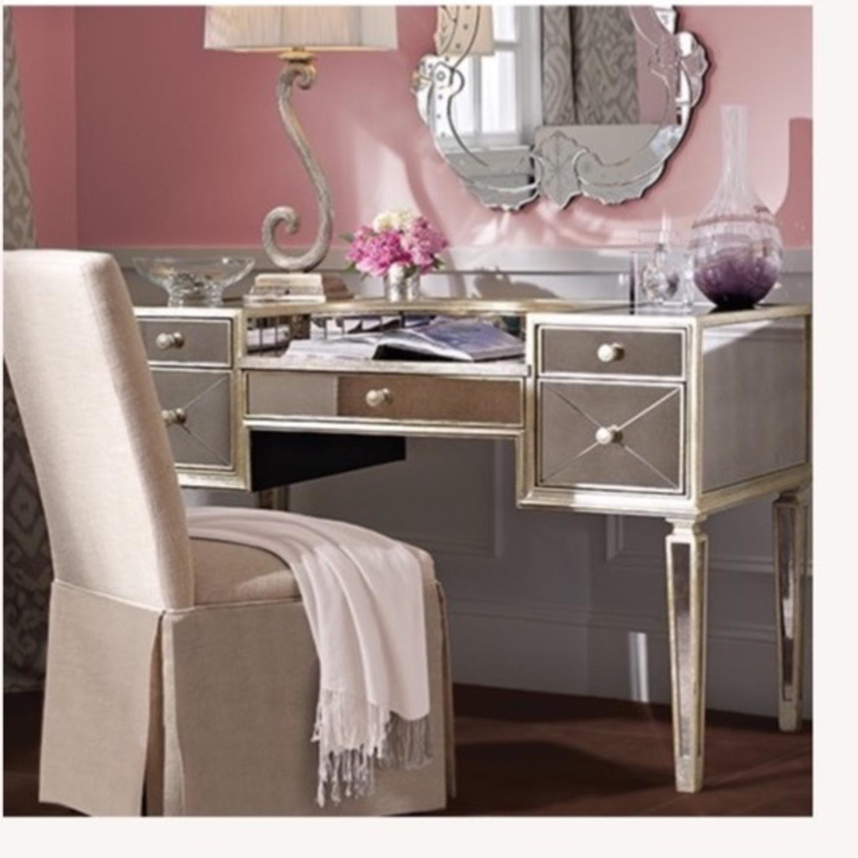 Houzz Mirrored vanity/Desk - image-4