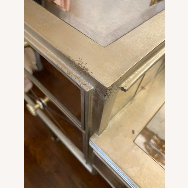 Houzz Mirrored vanity/Desk - image-7