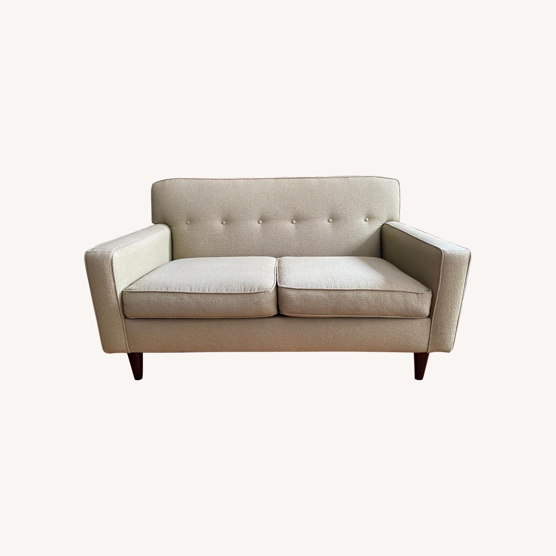 Macy's Tufted Sofa - image-0