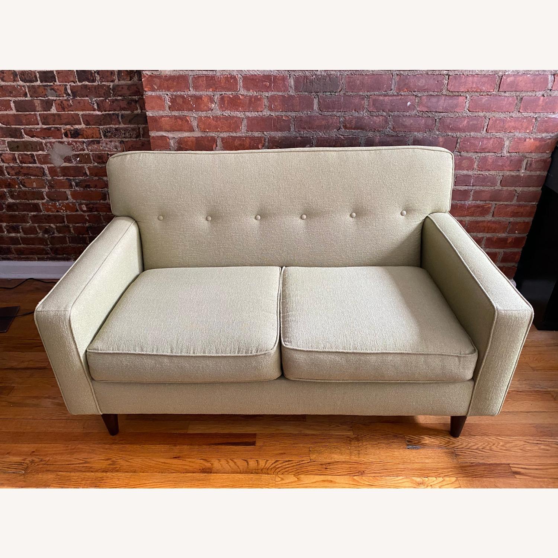 Macy's Tufted Sofa - image-2