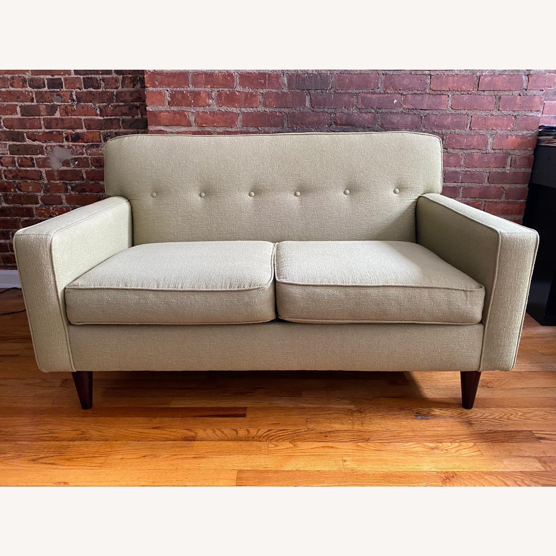 Macy's Tufted Sofa - image-1