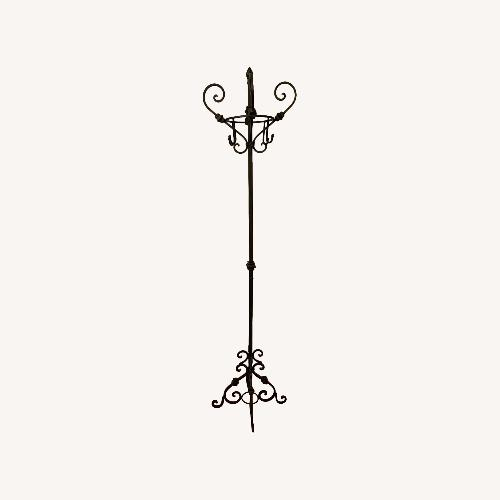 Used Urban Outfitters Black Metal Coat Rack for sale on AptDeco