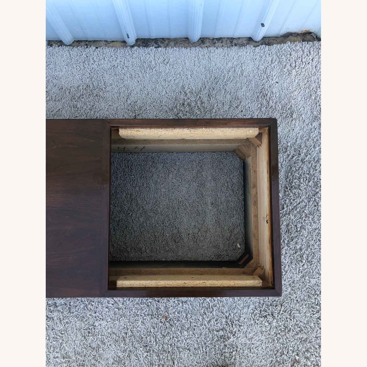 Mid Century Coffee Table w/ Planter Pearsall - image-17