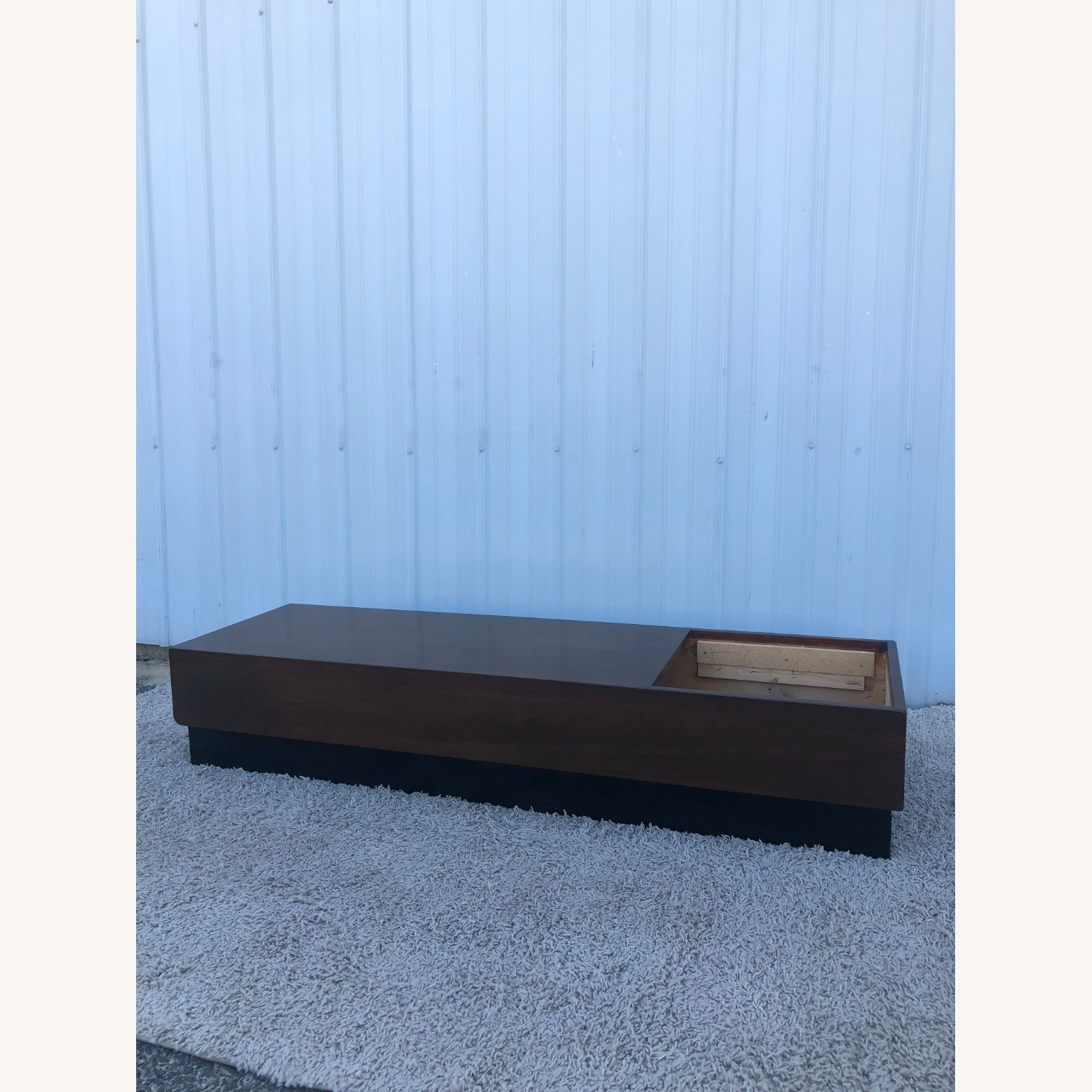 Mid Century Coffee Table w/ Planter Pearsall - image-13