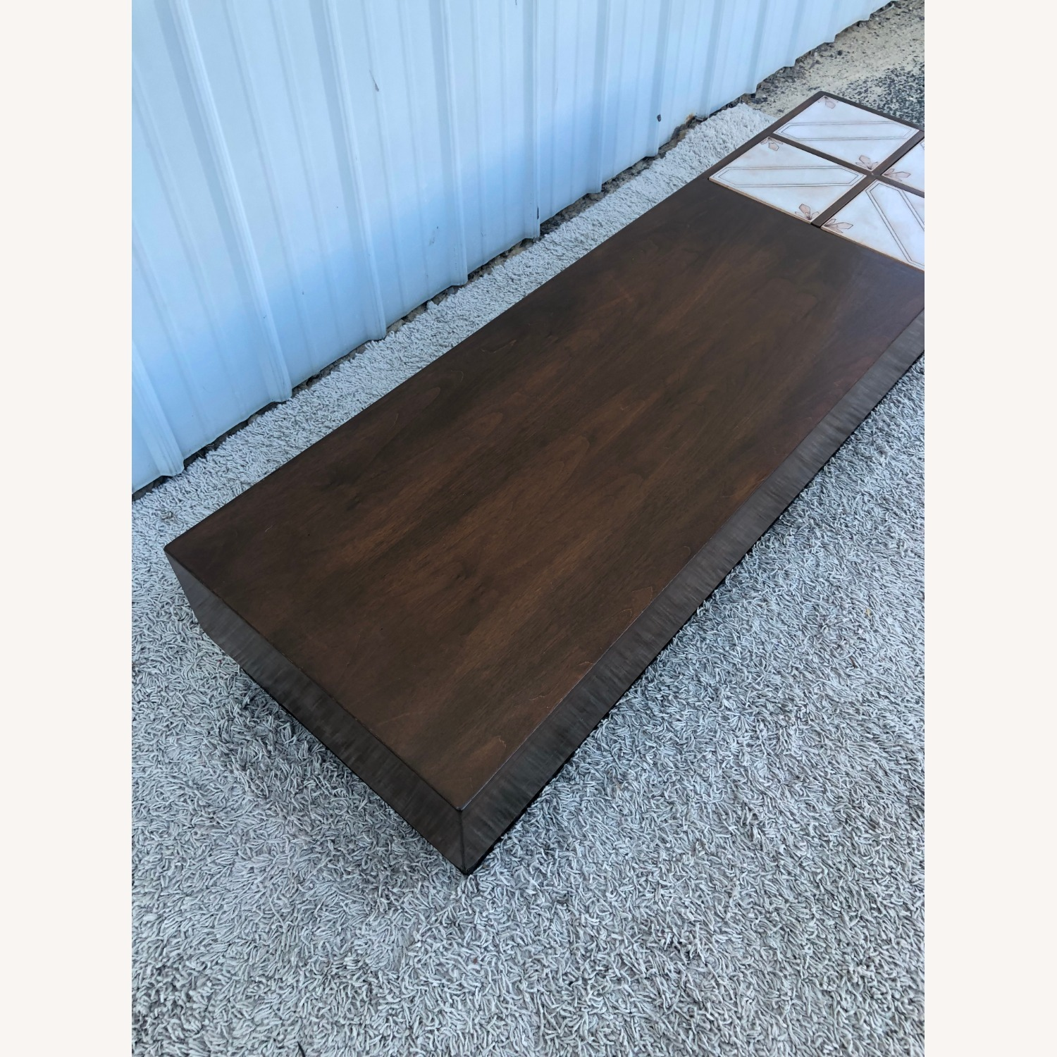 Mid Century Coffee Table w/ Planter Pearsall - image-6