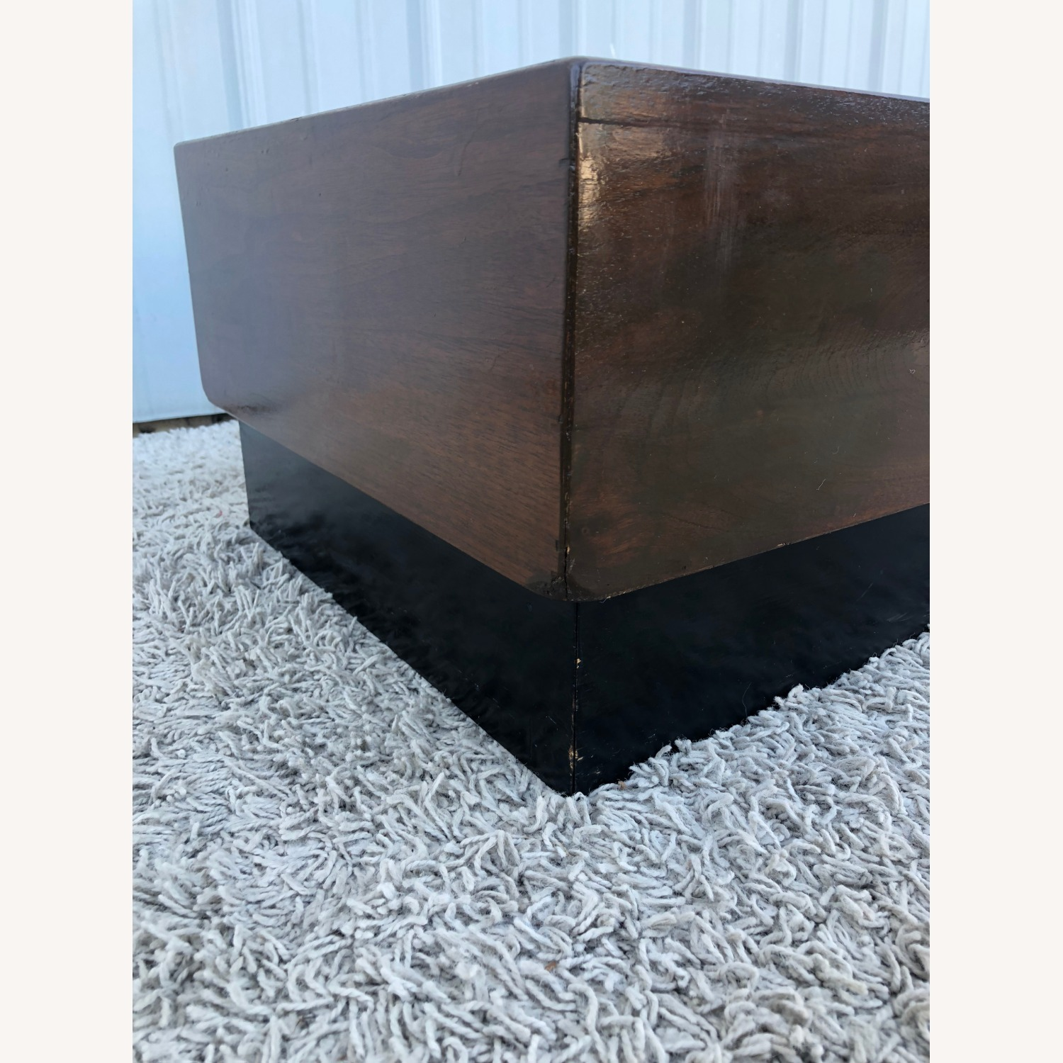 Mid Century Coffee Table w/ Planter Pearsall - image-15