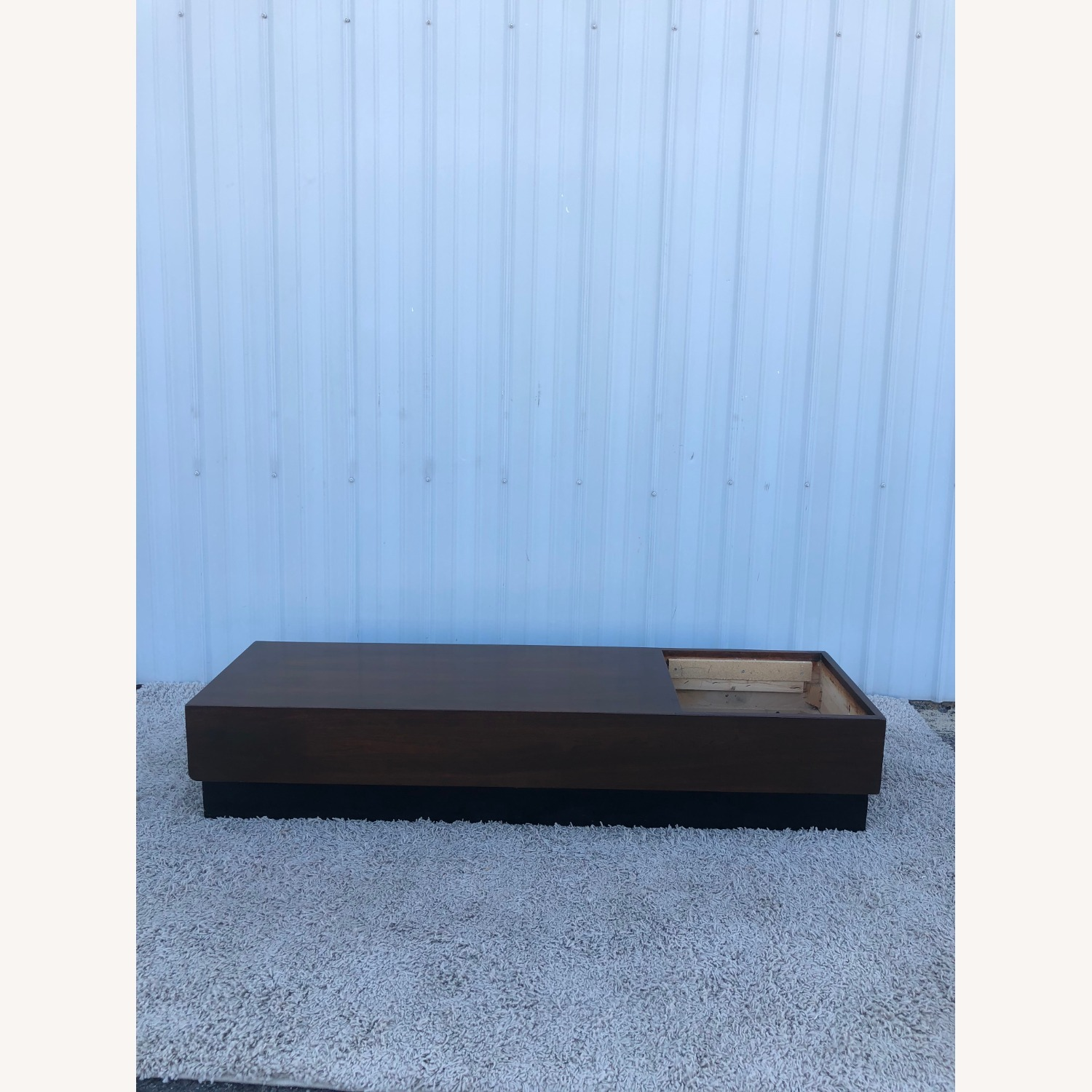 Mid Century Coffee Table w/ Planter Pearsall - image-14