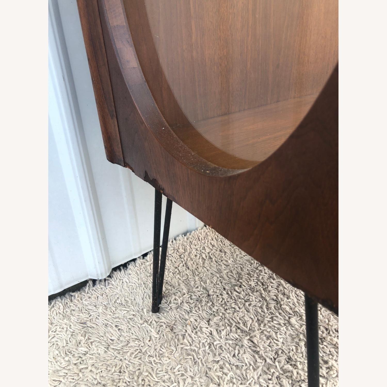 Mid Century Display Cabinet on Hairpin Legs - image-11