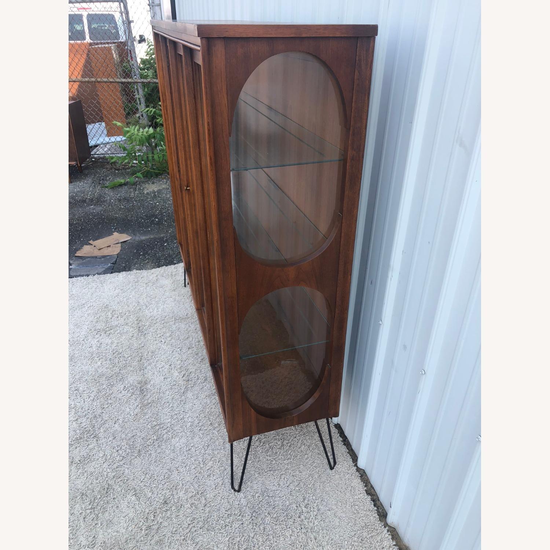 Mid Century Display Cabinet on Hairpin Legs - image-29