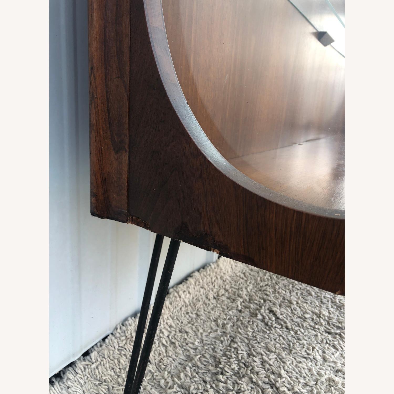 Mid Century Display Cabinet on Hairpin Legs - image-13