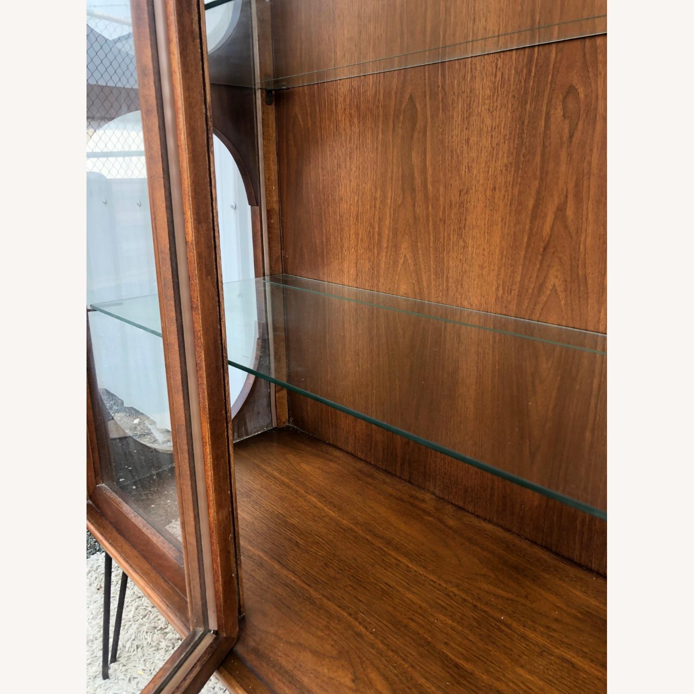Mid Century Display Cabinet on Hairpin Legs - image-16