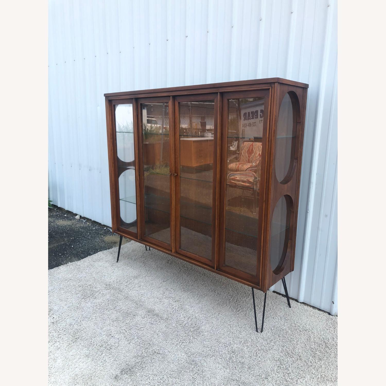 Mid Century Display Cabinet on Hairpin Legs - image-32
