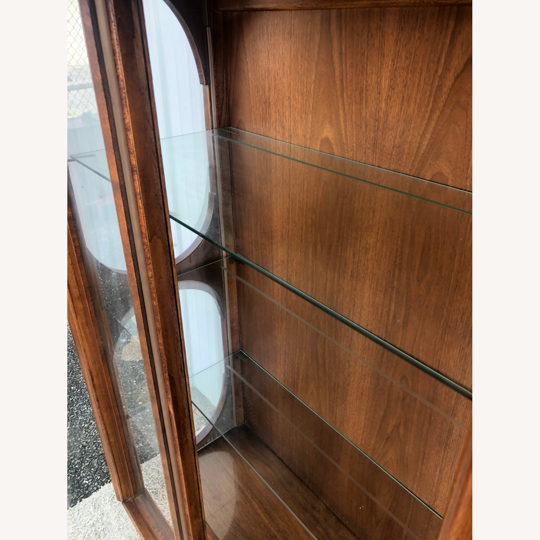 Mid Century Display Cabinet on Hairpin Legs - image-15