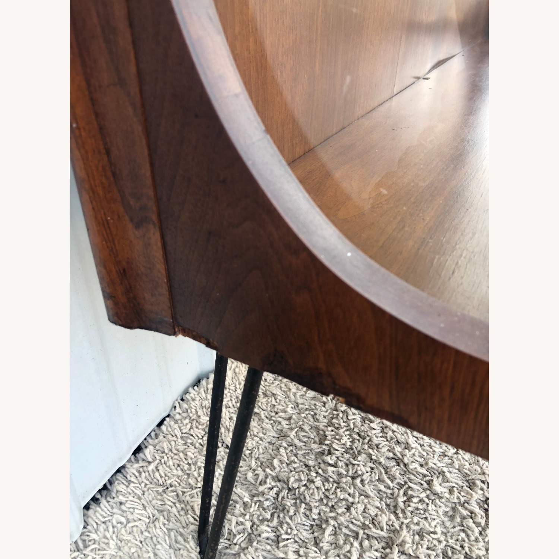 Mid Century Display Cabinet on Hairpin Legs - image-12