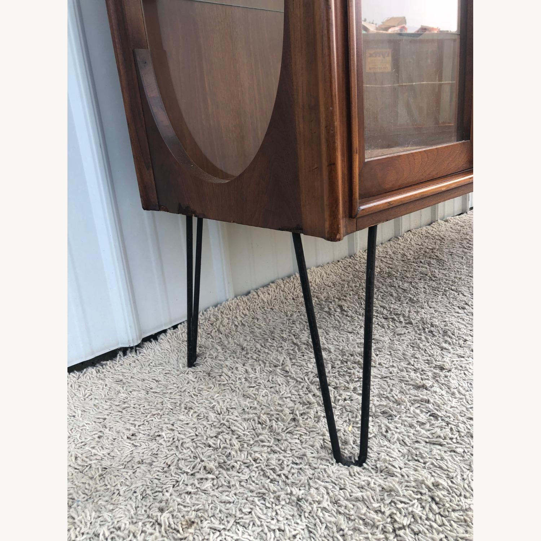 Mid Century Display Cabinet on Hairpin Legs - image-9