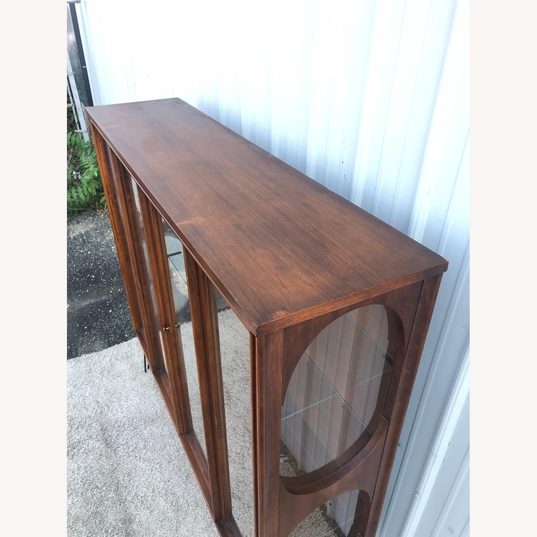 Mid Century Display Cabinet on Hairpin Legs - image-26