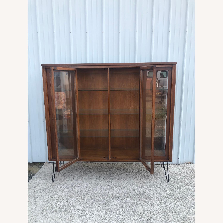 Mid Century Display Cabinet on Hairpin Legs - image-33