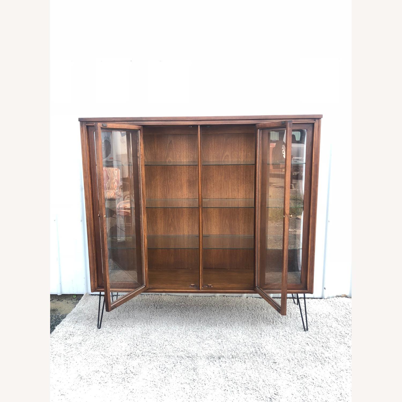 Mid Century Display Cabinet on Hairpin Legs - image-31