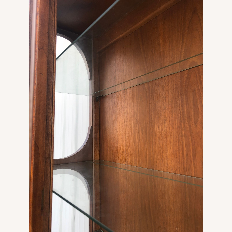 Mid Century Display Cabinet on Hairpin Legs - image-17